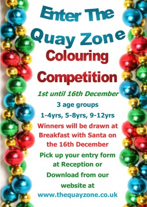 ENTER OUR CHRISTMAS COLOURING COMPETITION