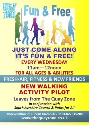 NEW FREE `WALKING ACTIVITY` LAUNCH - WEDNESDAY, 14TH MARCH 11AM-12NOON