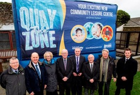 'The Quay Zone' unveiled as name for new community leisure centre